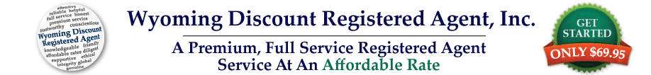 Wyoming Discount Registered Agent, Inc.